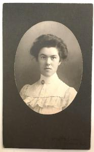 1890's Edna Marguerite Griswold Gridley Photo, Virgil, Cortland NY