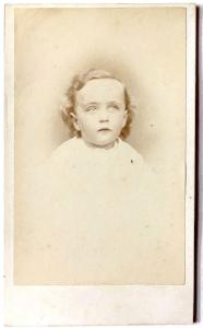 "1870 ""Fordie"": Wilford Kinney CDV Photo, Aurora, Kane County Illinois"