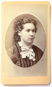 1870's Nellie Storrs Townsend CDV Photo, Claremont, Sullivan County NH