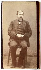 1880s Alden Stevens Photo, Found in Leroy, Genesee County, New York NY