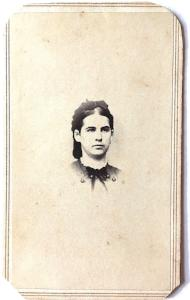 1860s Maria Theresa Harris Civil War CDV Photo, Scituate, Rhode Island