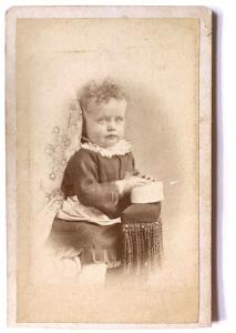 1870's Maude Norwood Photo, wife Sumner Tingley Packard, Camden, Maine