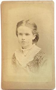 1877 Lena Hayes Family CDV Photo, Norwich, Chenango County NY