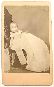 1875 William Henry Sutton CDV Photo, Louisville, Jefferson County, KY