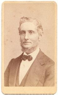 1870's James M. Sargent CDV Photo, Shoemaker in Lynn, Essex County MA