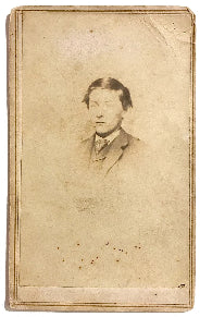 1860's Frank Sturges CDV Photo, found in Greenfield Franklin County MA
