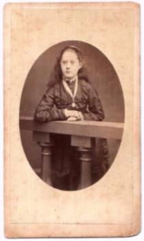 1870's Kate Allen Jefferis CDV Photo, Bath, Somerset County England UK