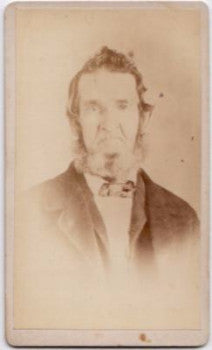 1870's Josiah Childs CDV Photo, St. Louis MO, Steuben County NY & OH