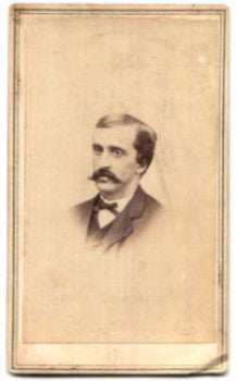 1860's Daniel F. Cowles Civil War CDV Photo, 22nd, 49th NY Glens Falls
