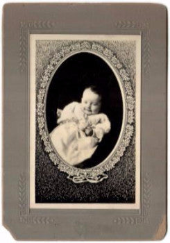 1Bonin Genealogy: 1913 Florian Agnes Bonin ID'd Photo, Worcester MA