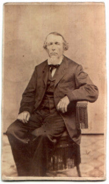 1860's Peter Fasold CDV Photo (Isabella Gottschall) Pottsville, Penn
