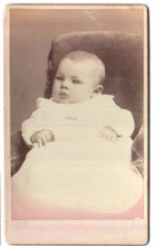 1880 Ada Belle Reeve CDV Photo (daughter of Frank Place Reeve) ME & NH