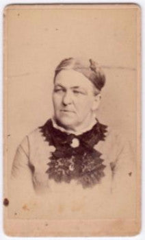 1870's Elizabeth Eargood CDV Photo, Pottstown PA (Lizzie Kongher)