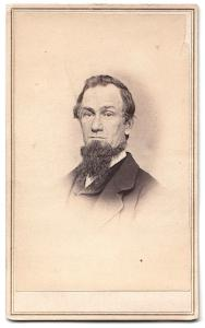 1860's Lafayette Draper CDV Photo, Attleboro, Bristol County, Mass
