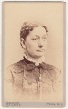 1870's Sarah Forsythe CDV Photo, Spencer, Tioga County, New York