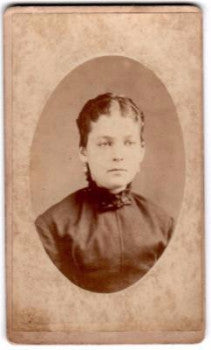 1870's Rosa Marshall CDV Photo, Memphis, Shelby County, Tennessee