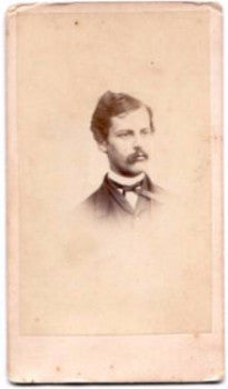 1860's Wesley Creveling Lawyer, Civil War CDV Photo, Mayor Trenton NJ