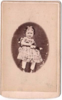 1860 Hannah Lamira Corwin Robinson Photo, Middletown, Orange County NY