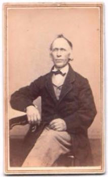 1860's Harding P. Smith ID'd CDV Photo, Providence Rhode Island
