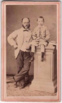 1860 Richard Sardelli CDV, Paris France by Clement Lagriffe