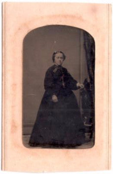 Cobert Genealogy: 1860's Libby Cobert ID'd Civil War Era Tintype Photo