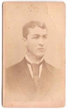 1870's Albert Cockman, Austin T. Tompkins CDV Photo, Chemung County NY