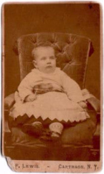 1870 Dentist Frank J. Kenna CDV Photo, Carthage, NY & Quincy MA