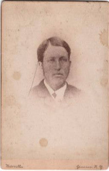 1880's Duane Peake (Peak), New Bremen, Lewis County NY Mourning Photo