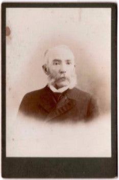 1880's Dr. Theodore F. Wolfe Cabinet Photo, Co. H, 11th NJ Civil War