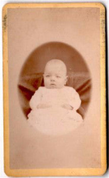 1870's Burt Palmer Townsend CDV Photo, son of Photographer AA Townsend
