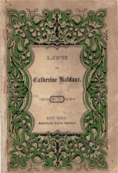 1860's Catherine Haldane of Scotland, Victorian Mourning Penny Book