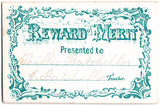 "1872 ""Lillie"" Lillian Batchellor Family Reward of Merit VT Genealogy"