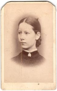 1883 Maggie Gordon Photo, Cedar Rapids, Iowa: Rev. Dr. Andrew Gordon