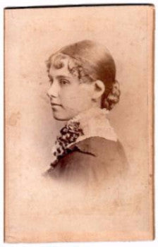 1870's Olive Chace Eddy CDV Photo, Providence RI, wife of Lloyd Eddy