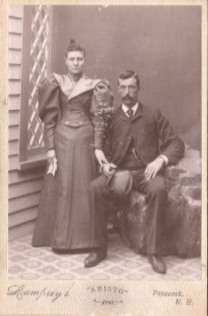 1896 Nellie Stone, Alexander Ducat Photo: Penacook Merrimack County NH