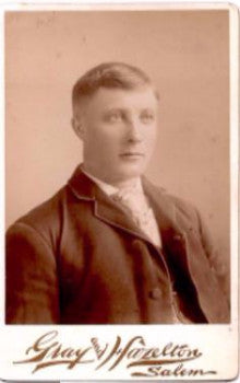 1890's Harry Vernon Fitch Cabinet Photo, Salem MA (Annie Bradstreet)