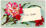 1890's Roy Deane Victorian Calling Card, Found in Maine
