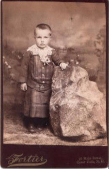 1880s Thomas Joseph Whalen, Great Falls NH (Somersworth) Cabinet Photo