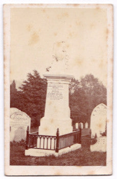 1868 Elizabeth Draper Gravestone Photo, mother to James Henry, London