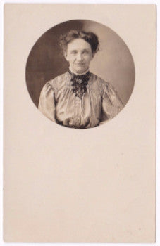 1907 Lodacie Scribner Pease Photo, Andover, Allegany County, New York