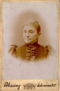 1880's Mrs. Barker Crandall Photo, Salamanca, Cattaraugus County NY