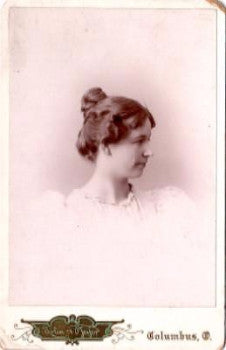 1890's Martha Johnson Winchester Photo, Stoughton, Dane County, WI