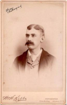 1880 William Chetwynd Photo, Johnstown, Fulton County NY, Born England