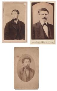 1860's John, James & Fletcher Armitage Photos, Wayne, Seneca County NY