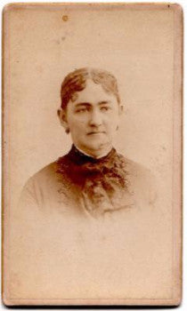 Christmas Genealogy: 1870's William Christmas CDV Photo, Hartford CT