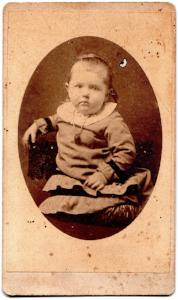 Kirby Genealogy: 1870's Kirby Family 1870's ID'd CDV Photo
