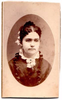 1870's Mrs. J. Connor ID'd CDV Photo, Springfield MA or Providence, RI