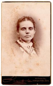1880's Ann O'Neil ID'd CDV Photo, Chicopee Mass, Hampden County
