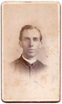 1880s Priest PD Stone, Patrick D. Stone Photo Chicopee, Springfield MA