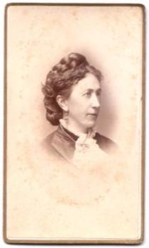 1879 Ann Callighan ID'd CDV Photo, Springfield MA, Hampden County